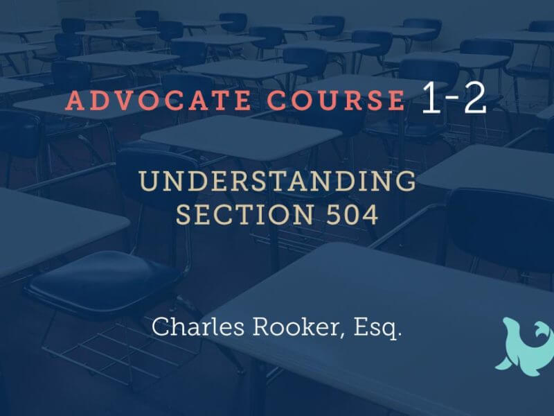 1-2 Understanding Section 504