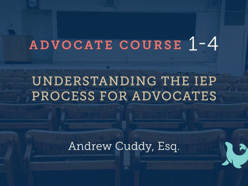 1-4 Understanding the IEP for Advocates
