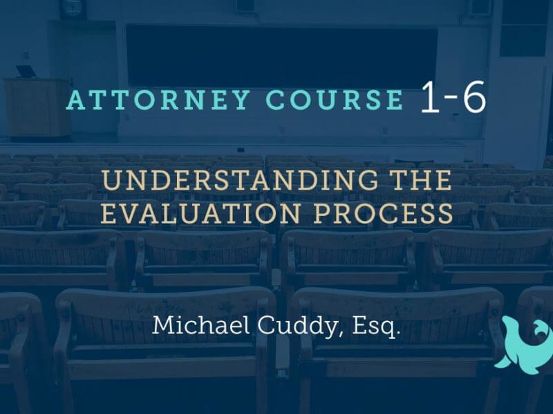 1-6: Understanding the Evaluation Process