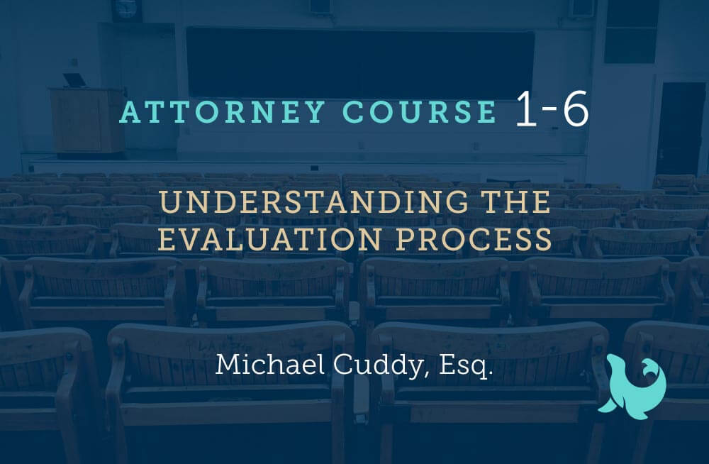 understanding the evaluation process cover