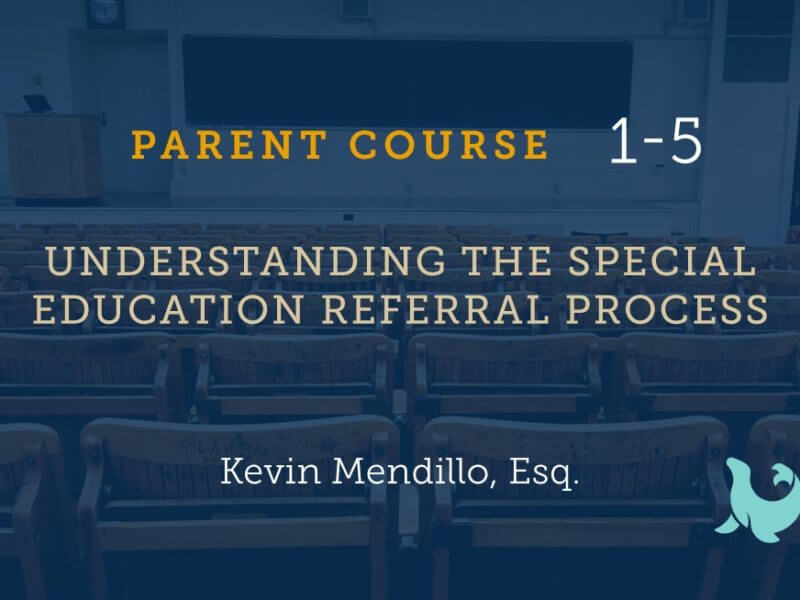 1-5 Understanding the Special Education Referral Process