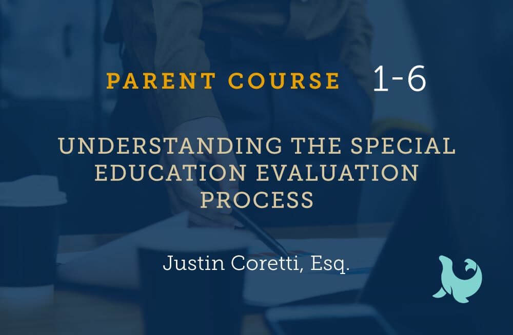 understanding the special education evaluation process