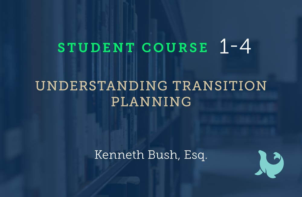 Understanding transition planning