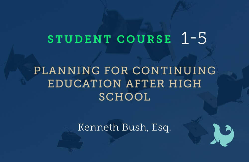 planning for continuing education after high school